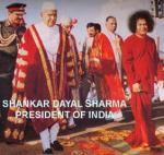Fmr Indian Pres. Shankar Dayal Sharma. Dresses To Please Puttaparthi Baba