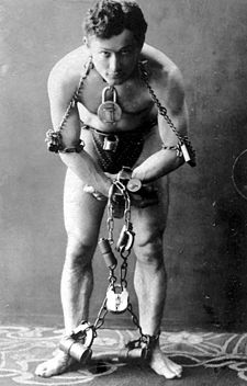 Harry Houdini. Escapist, Illusionist, stuntman, actor, pilot