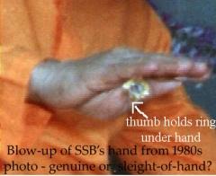 Film Clip of Sathya Sai Baba's magic trick