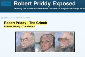 Sathya Sai Baba Man Gerald Moreno's Photo Attack On Robert Priddy
