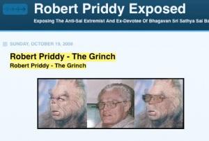 Sathya Sai Baba Man Gerald Moreno's Photo Attack On Robert Priddy