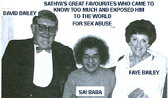 David and Faye Bailey. Authors of 'The Findings'. An historic and lengthy indictment of Sathya Sai Baba, by two former and very close disciples