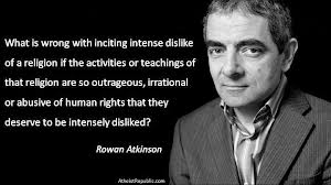 The great British comedian Rowan Atkinson has memorably defended freedom of speech at a Westminster Parliamentary reception