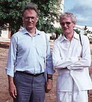 The Erlendur Haraldsson-Robert Priddy Friendship, Puttaparthi 1989