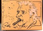 Rolf Harris Sketch of Sir Jimmy Savile