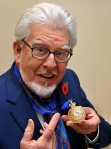 Rolf Harris, 83. Again arrested for questioning in British Operation Yewtree. UK detectives have traveled to Australia to extend investigations